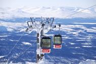 Utsikt från Åreskutans topp