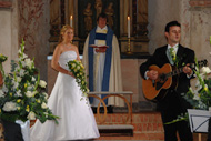 David och Katharina gifter sig
