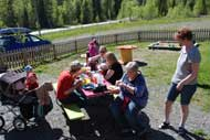 Avslutningsfest på Skogsgläntan