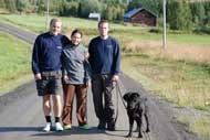Måns, Sara, Martin och Zingo i Oxböle